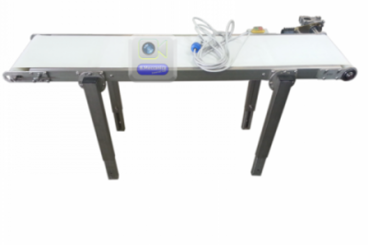 motorized conveyor belt inox structure NT-eco